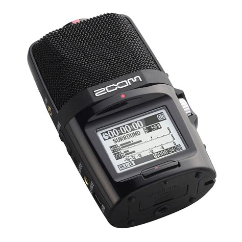 Zoom H5n Handy Recorder With Accessory Pack zoom h2n with accessory pack at gear4music
