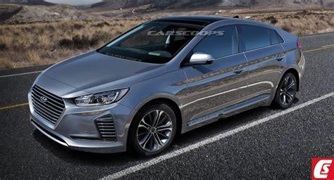 Future Hyundai Cars by Future Cars Hyundai S Prius Punching 2017 Hybrid Electric