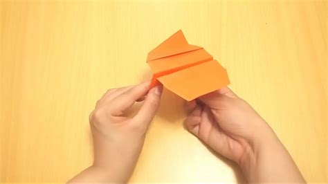 How To Make A Paper Boomerang That Comes Back - how to make a boomerang airplane 21 easy steps wikihow