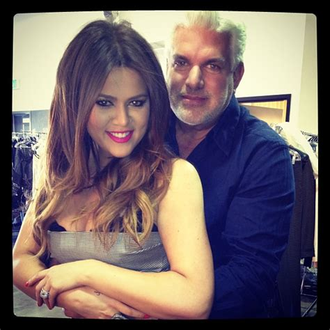 khloe kardashian and her real father khloe kardashian pictured with real father alex roldon