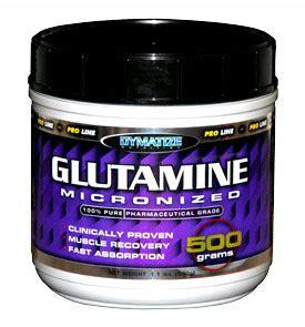 supplement glutamine glutamine supplements and benefits