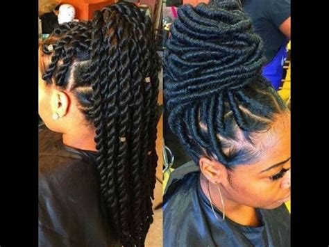 2017 latest braided hair style color gurl