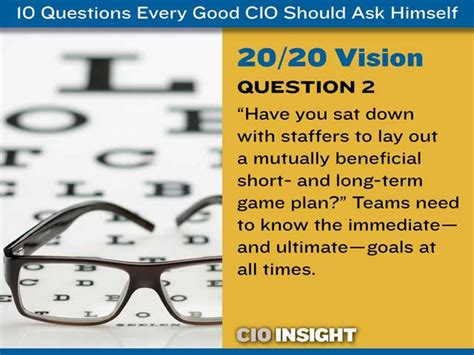 10 leadership insights every leader needed yesterday books 10 questions every cio should ask himself