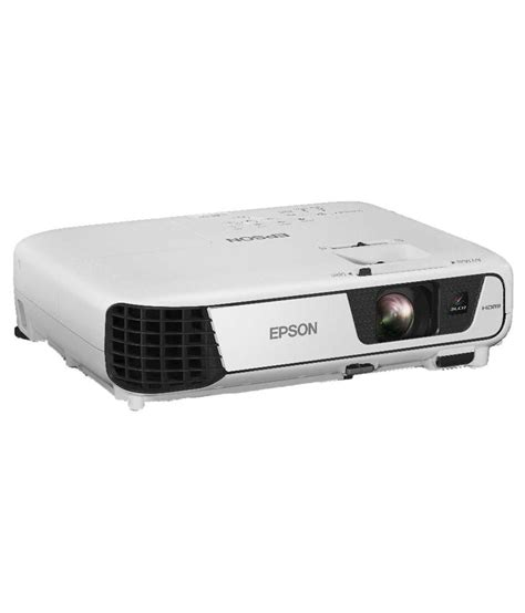Projector Proyektor Epson Eb S400 1 buy epson eb s31 svga projector 2700 lumens at best price in india snapdeal