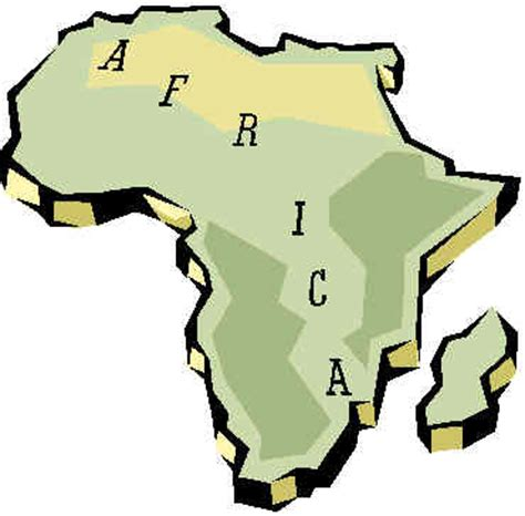 africa map clipart map of africa clipart clipart best