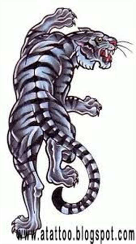 climbing tiger tattoo designs traditional tiger fighting snake on right lower leg