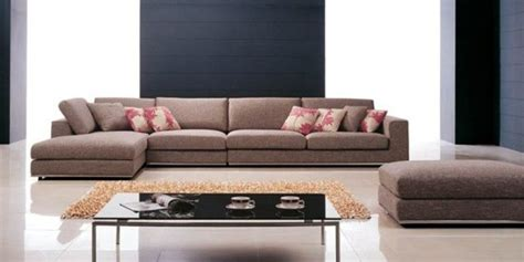 sofa psk fashionable mircofiber sectional with chaise with pillows