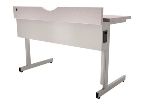 Flip Top Computer Desk Flip Top Computer Table Fixed Height 60 Quot Wx30 Quot D Computer Desks
