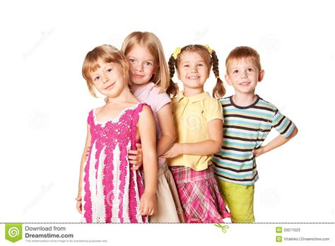 Children Of The White of children and smiling stock photos