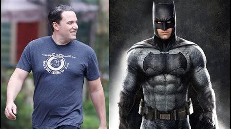 batman tattoo ben affleck ben affleck from fatman to batman body transformation