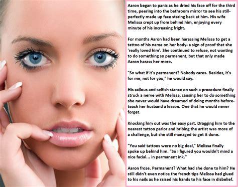 forced feminization semi permanent makeup forced sissy captions permanent makeup
