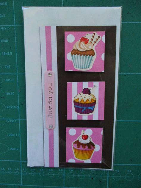 Handmade Cupcake Cards - handmade quot cupcake quot birthday cards felt