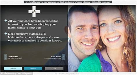 Rejected By Eharmony by Eharmony Launches Personal Matchmaking Service But At