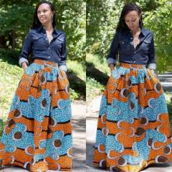 Best kitenge maxi skirt for women girls 2016 fashionte