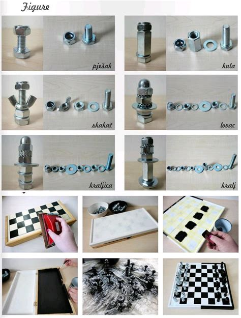 Best Chess Set Diy Nuts And Bolts Chess Do It Yourself Fashion Tips