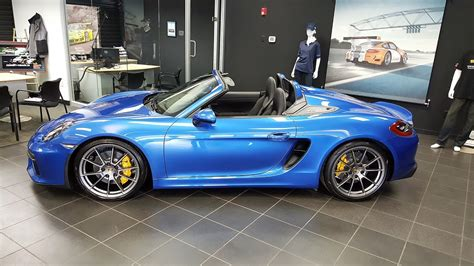 boxster porsche for sale 2016 porsche boxster spyder for sale columbus ohio