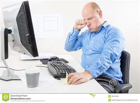 whining at businessman and whining at the office stock photo image 45313330