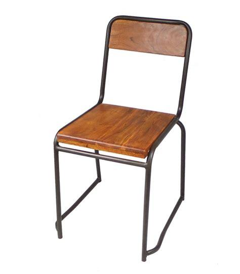 Chaise Style Industrielle by Chaise Industrielle Bois Et M 233 Tal Style Vintage
