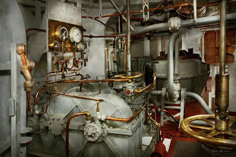 ship engine room design steunk in the engine room photograph by mike savad