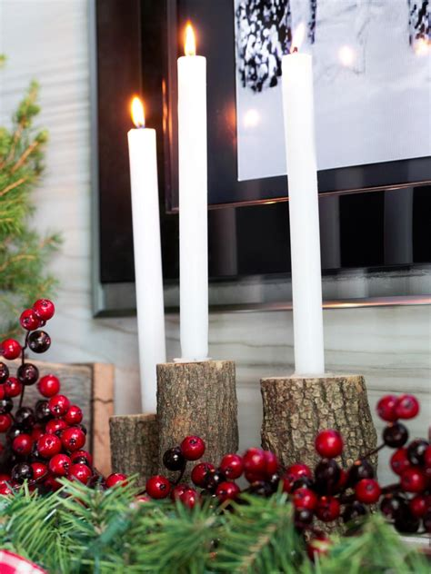 christmas decorating ideas for mantels hgtv