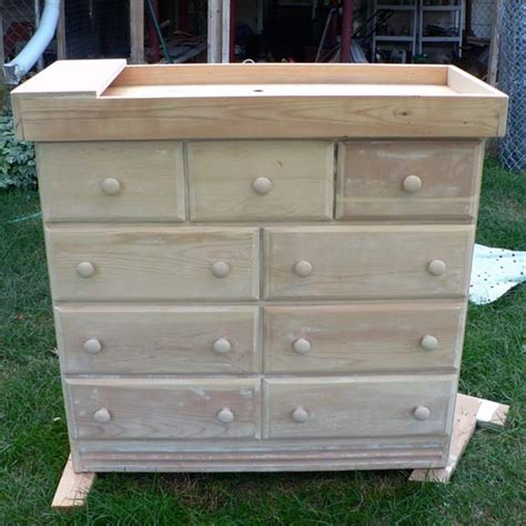 How To Make A Changing Table How To Make Your Dresser Into A Changing Table Plans Free