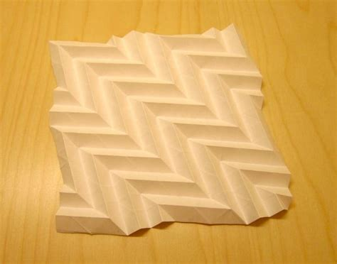 Folding Paper Into A - karabouts folded paper