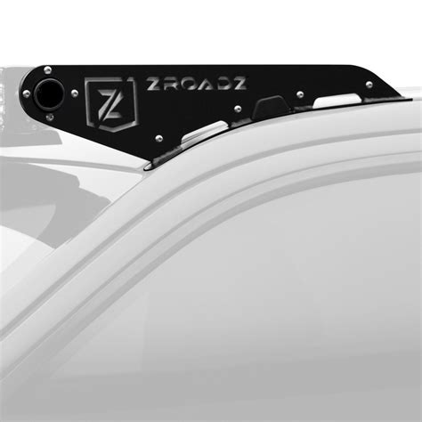 light bar roof mounts zroadz 174 z337581 roof mounts for 50 quot curved led light bar