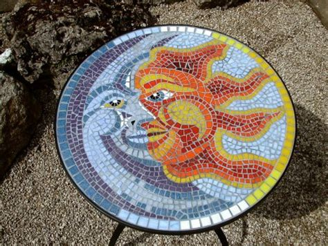 mosaic pattern for sun mosaic accessoiries mosaic projects pinterest