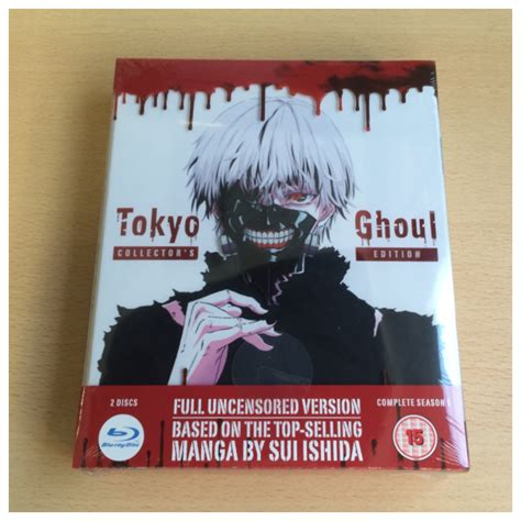 Tokyo Ghoul 05 Limited Edition unboxing tokyo ghoul all the anime