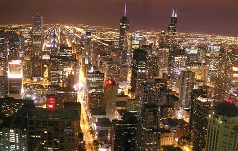 city of chicago light settlement united states most populated cities nations project