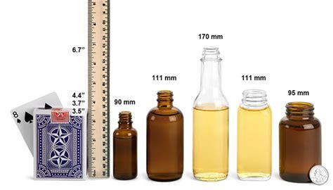 1 oz bottle size sks bottle packaging size comparison info