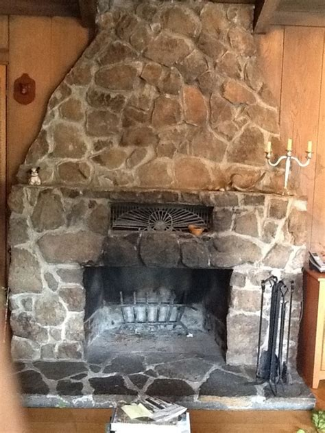 what to do with old fireplace refurbish old stone fireplace