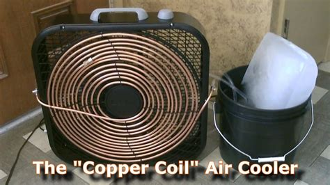 fan with ac built in ac the quot copper coil quot air cooler simple quot box