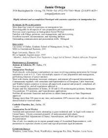 entry level paralegal resume sles resume format 2017