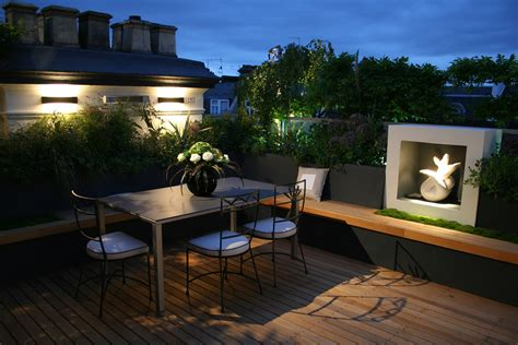 home design ideas decorating gardening roof garden design ideas but decor also modern terrace
