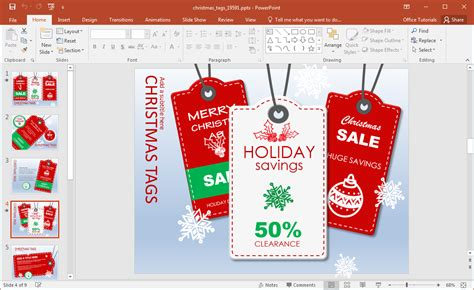 powerpoint templates for sale sales tags for fppt