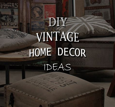 diy vintage home decor ideas