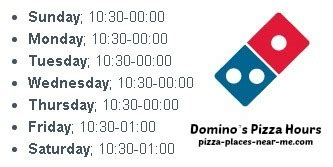 domino pizza opening times domino s pizza opening hours