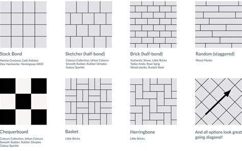 tile layout names luxury tile floor patterns layout kezcreative com