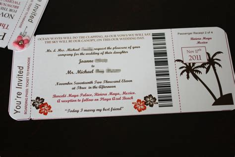 boarding pass template invitation joanne s diy boarding pass invitations with photos and