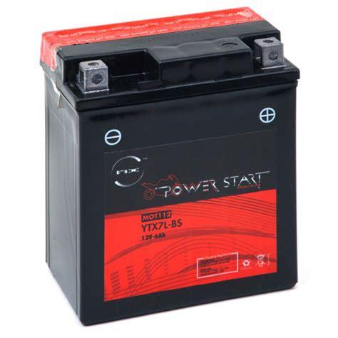 Motorrad Batterie 12v 6ah by Motorrad Batterie Ytx7l Bs 12v 6ah Mot112 All Batteries De