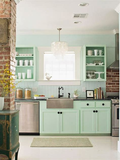 seafoam green kitchen cabinets sea foam green kitchen home decor kitchen