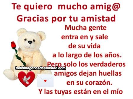 imagenes tu amistad te quiero amigos and tes on pinterest