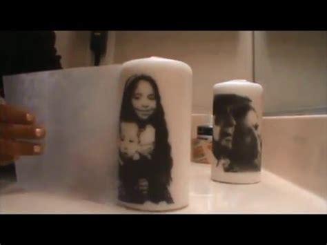 Hair Dryer Johnny Andrean diy printed candels