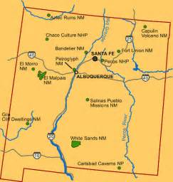 Aztec Ruins Mexico Map by Aztec Ruins National Monument