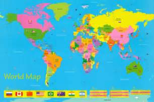 Map Of The World For Kids by Pics Photos Simple Map Of The World For Kids