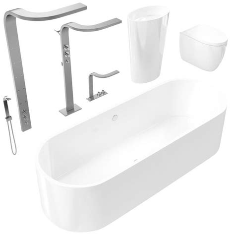 3 Fixture Bathroom Bathroom Set Fixture