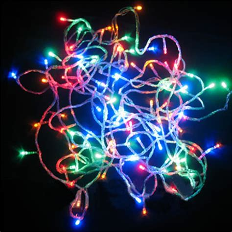 colored string 200led multi colored string lights wedding