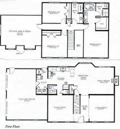 2 story bungalow floor plans 2 story 3 bedroom house plans 2 story house 1 bedroom