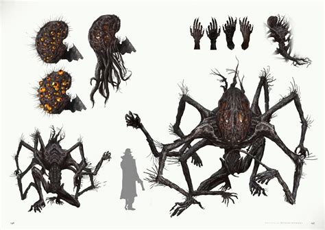 analyzing fallout 4 concept art aliens boss enemies english preview images revealed for bloodborne official